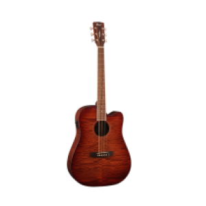 AD890 MBCF NAT электроакустическая гитара с чехлом